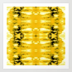 Tie-Dye Lemons Art Print