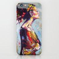 Lena- Beautiful Woman iPhone 6 Slim Case