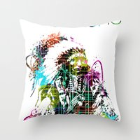 Apache Throw Pillow