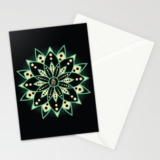 Peace Tile Print Stationery Cards