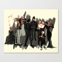 High Society Canvas Print