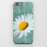iPhone & iPod Case featuring Daisy Head by Alice Gosling
