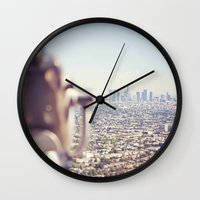 View From The Top, Los A… Wall Clock