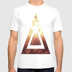 My autumn Mens Fitted Tee SMALL White