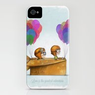 UP Pixar — Love Is Th… iPhone (4, 4s) Slim Case