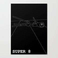 Super 8 Canvas Print