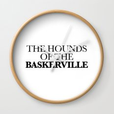 THE HOUNDS OF THE BASKERVILLE Wall Clock