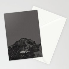 Nature / Winter Mountains Stationery Cards