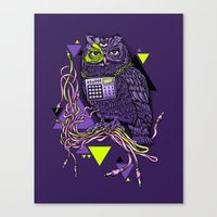 DiscOwl 6c Canvas Print