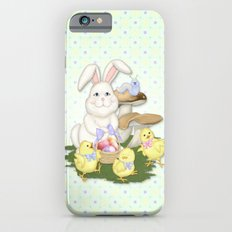 White Rabbit and Easter Friends iPhone 6s Slim Case