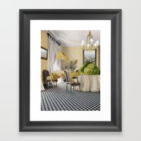 Magnetic Framed Art Print