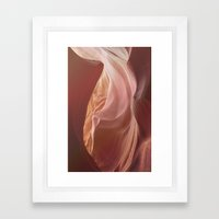 Antelope Canyon 1 Framed Art Print