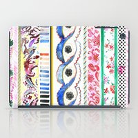Patterned Stripes iPad Case
