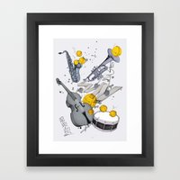 Jazz Jazz Jazz Framed Art Print