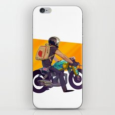 Biker iPhone & iPod Skin