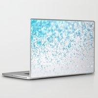 glitter Laptop & iPad Skins featuring Glitter by Monika Strigel