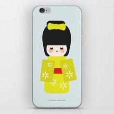 Kokeshi iPhone & iPod Skin
