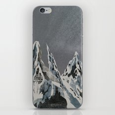 Mountains - Winter Sky iPhone & iPod Skin