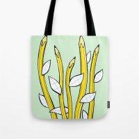 Pencilflowers Tote Bag