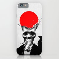 iPhone Cases featuring SPLASH SKULL by Ali GULEC