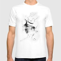 Line 5 Mens Fitted Tee White SMALL