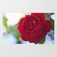 Rose Heart Rug
