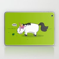 Damn! Bob, the Unlucky Horse! Laptop & iPad Skin