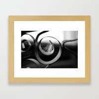 Something was there #2  Framed Art Print