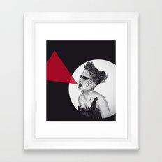 Black Swan IV Framed Art Print