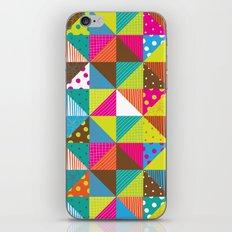 Crazy Squares iPhone & iPod Skin