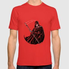 DeathVader Red Mens Fitted Tee SMALL