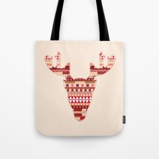 Christmas Reindeer. Tote Bag