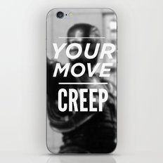 Robocop Typography iPhone & iPod Skin