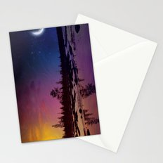 Day And Night - Painting Stationery Cards