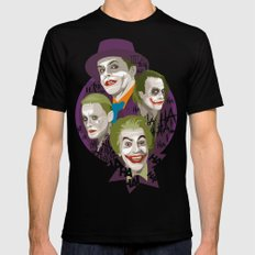 The Jokers SMALL Mens Fitted Tee Black