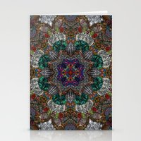 Hallucination Mandala 4 Stationery Cards