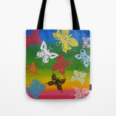 colorful Butterflies (1) Tote Bag