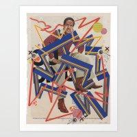 orenthal & the tigers Art Print