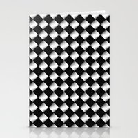 Black And White 1 Stationery Cards