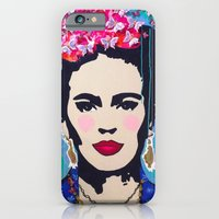 iPhone & iPod Case featuring Frida Kahlo by Paola Gonzalez by Paola Gonzalez