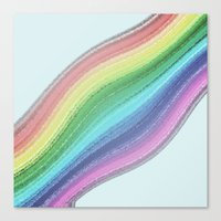 Rainbow Design  Canvas Print