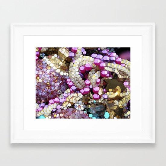 For the Love of BLING! Framed Art Print
