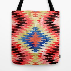 Painted Navajo Suns Tote Bag