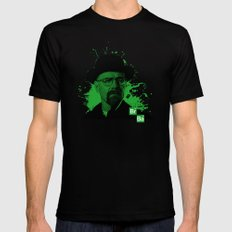 Breaking Bad Green Mens Fitted Tee SMALL Black