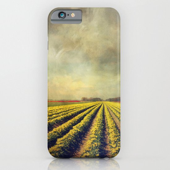 Chaos & Order - Field of Tulips iPhone & iPod Case