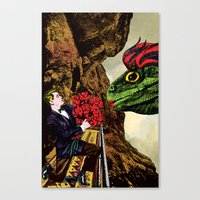 There were not magic words to be spoken Canvas Print