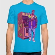 T-shirt featuring Monster Arcade by Mike Wrobel