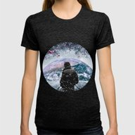 Winter Womens Fitted Tee Tri-Black SMALL
