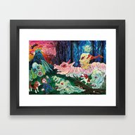 Castelvania Framed Art Print
