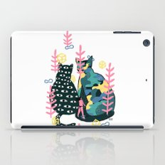 two cats iPad Case